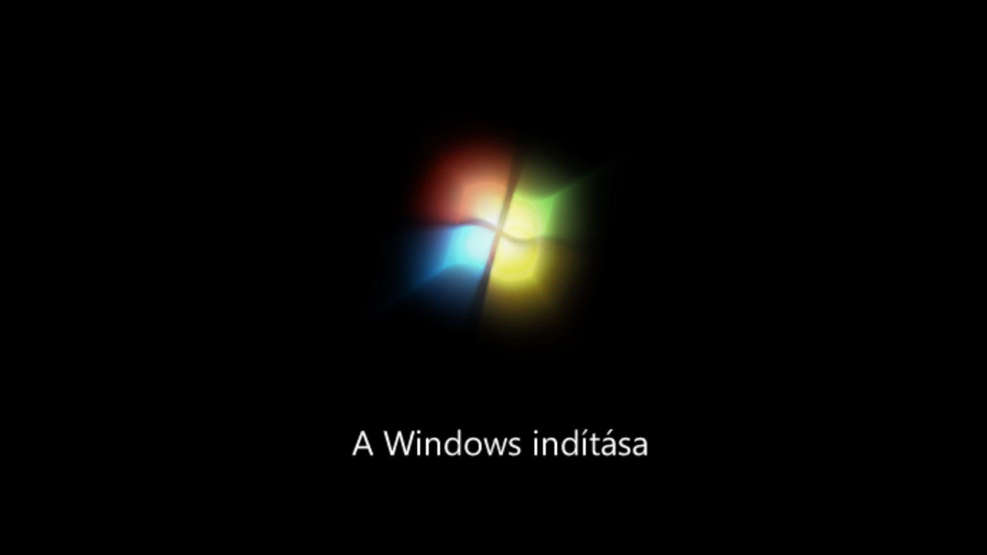 Windows rendszer indítása